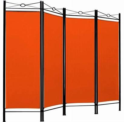 Folding Divider Frame Contemporary Panels Finished Steel