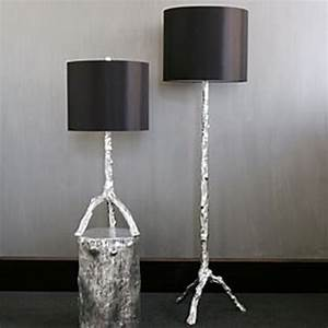 30 gorgeous twig decorations for your home freshomecom With silver twig floor lamp