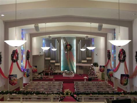 sanctuary decorated  adventchristmas lancaster
