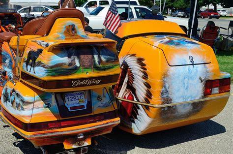 honda goldwing airbrush cars bikes honda