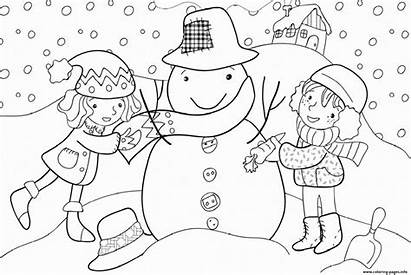 Winter Coloring Pages Printable 509b