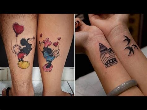 cool matching tattoos ideas  married couples youtube