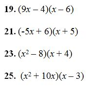 multiplying binomials worksheet pdf and answer key 29