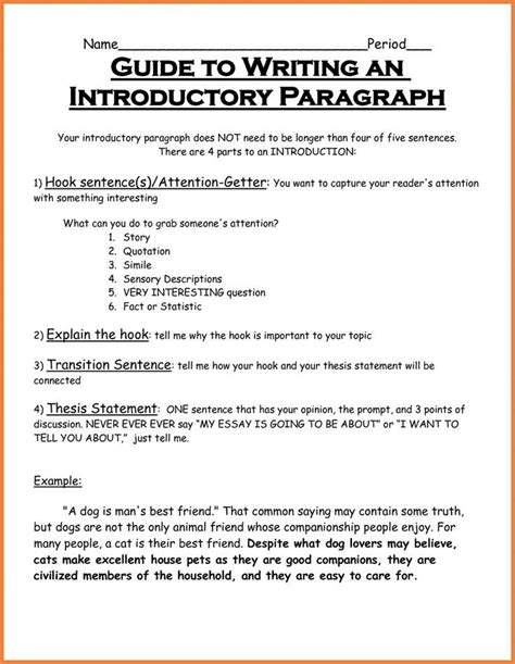 Intro To Writing A Paper by Intro Sentences For Essays How To Write A Topic We Can Do
