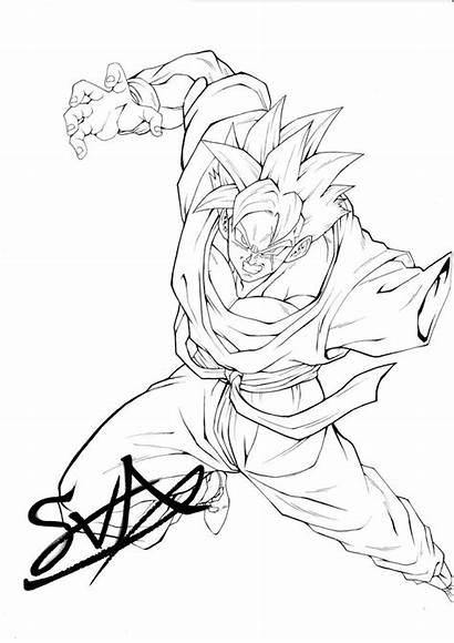 Gohan Dragon Ball Future Drawing Manga Gt