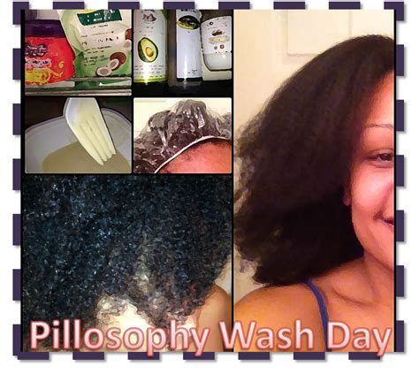 Pillosophy Wash Day ∴ Natural Hair Routine