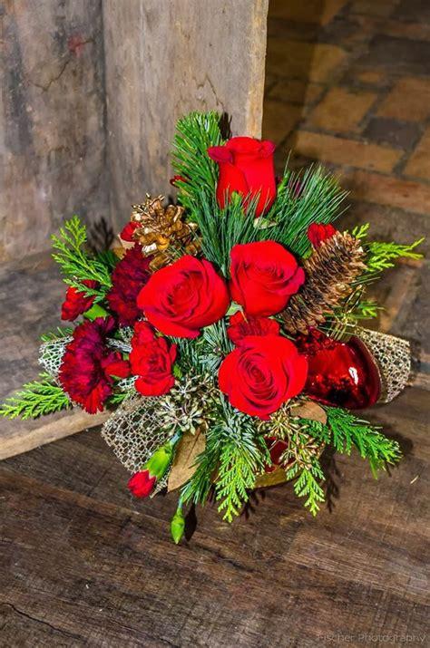 bank  flowers christmas flower arrangements