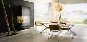 Salle a manger design modernite et convivialite for Meuble de salle a manger avec table salle a manger moderne design
