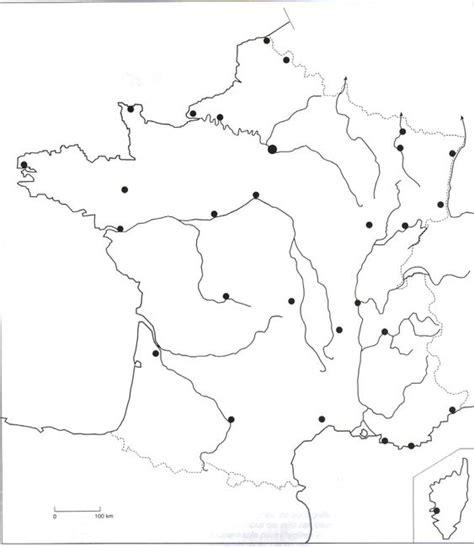 Carte Fleuve De Vierge by La Carte Muette Des Fleuves Classe