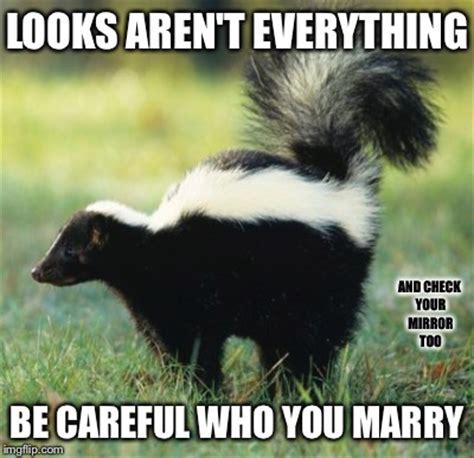 Skunk Meme - dating advice imgflip