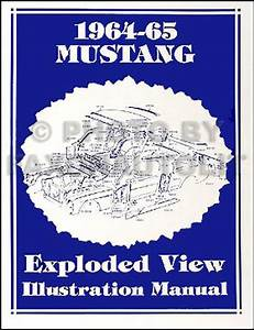 1964 1  2 Ford Mustang Supplement Repair Shop Manual Reprint
