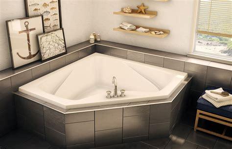 ctf  corner  drop  bathtub aker  maax
