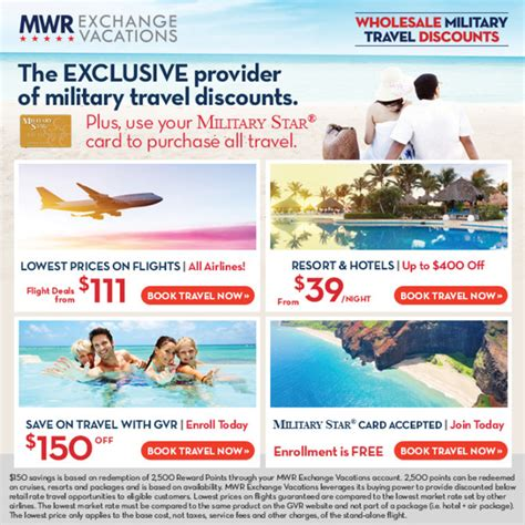 Travel In Style With Mwr Vacations
