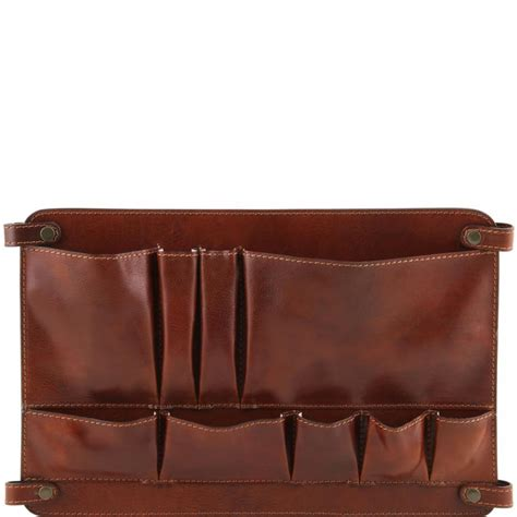 module separateurclasseur cuir  poches tuscany leather