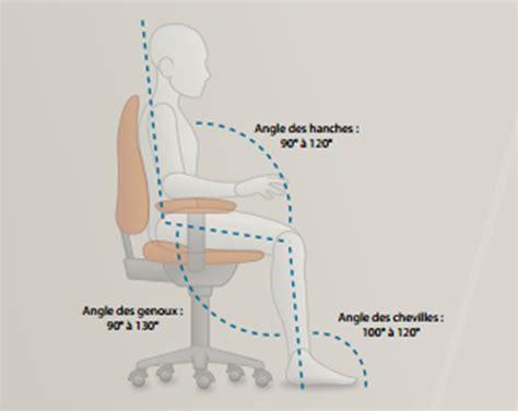 position bureau ergonomie la bonne posture devant pc plusieurs