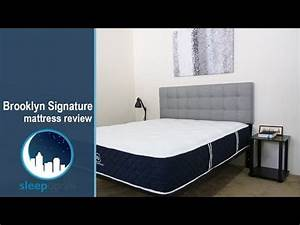 brooklyn signature mattress review new hybrid better bed With brooklyn bed review
