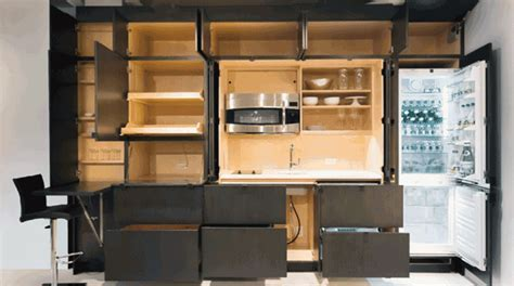 Stealth Kitchen ? Shoebox Dwelling   Finding comfort