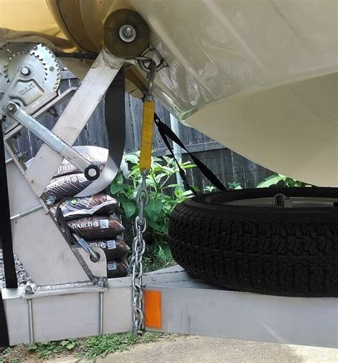 Boat Trailer Safety Chain by Safety Chain The Hull Boating And Fishing Forum