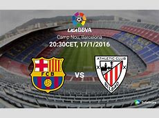 Barcelona vs Athletic Bilbao – Match Preview, Live Stream