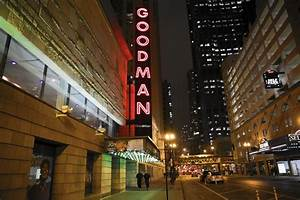 Light Up Theater Sign Goodman Theatre Marquee To Light Up Downtown Once Again
