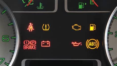 warning lamps  indicators vehicle features official