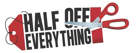 Storewide Half Price Sales are HERE! - Stuff Etc