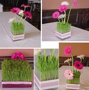 Idee Deco Photo : gazon artificiel ou frais pour d corer votre table festive ~ Preciouscoupons.com Idées de Décoration