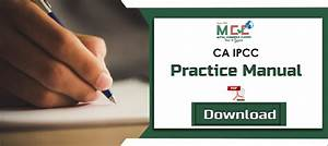 Download Ca Ipcc Practice Manual For May 2020  Pdf
