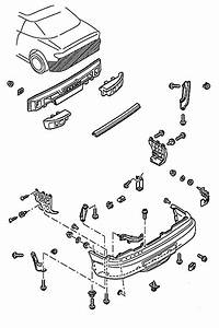 How To Remove Front And Rear Bumper Ford Probe  1993 To 1998