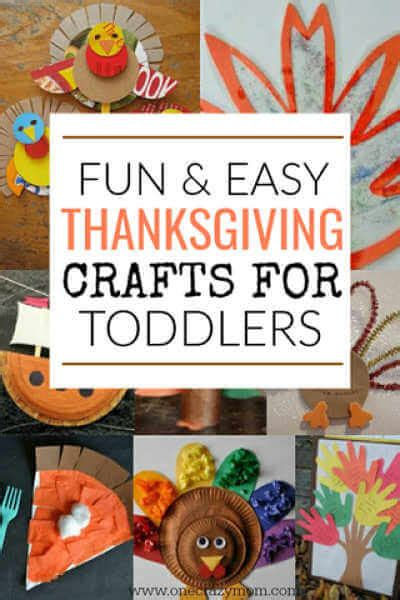 easy thanksgiving crafts  toddlers easy thanksgiving
