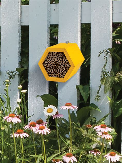 Honeycomb Mason Bee House Gardener's Supply in 2020