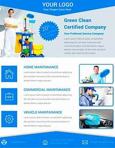 download free cleaning service flyer psd template for With cleaning company flyers template