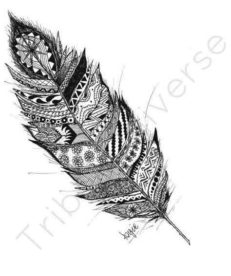detailed feather   drawing yahoo canada image