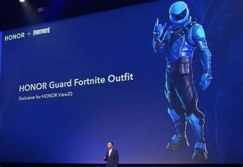 exclusive honor guard fortnite skin oufit revealed