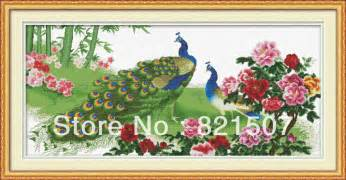 flower delivery express cross stitch the peacock cross stitch peony flower