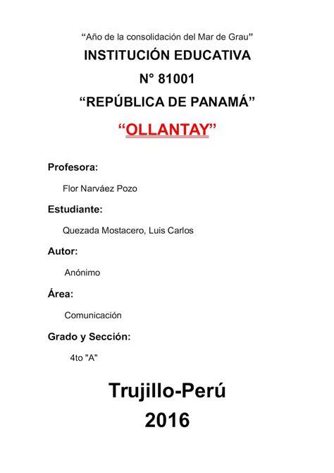 Calaméo - Ollantay