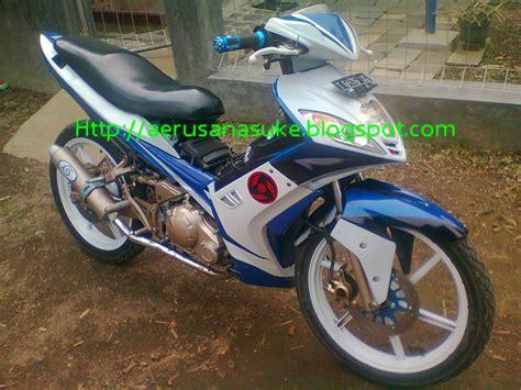 Airbrus Yamaha Jupiter Mx Thn2014 by Gambar Motor Jupiter Mx Di Modifikasi Terkeren Dan Terbaru