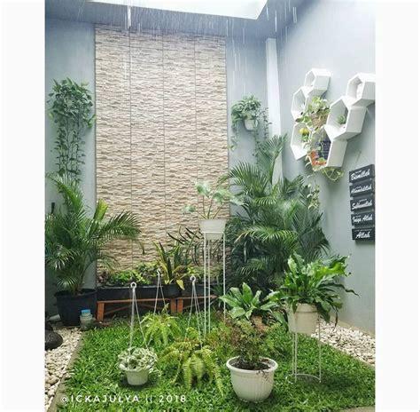 taman indoor inspiratif rumah mungil yuk intip desain