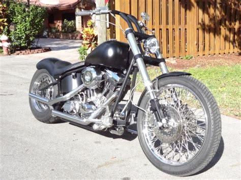 95 Harley Davidson Custom Softail Bobber Motorcycle Rebuilt