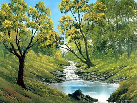 26 Bob Ross Beautiful Paintings