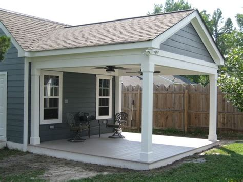 Covered Porch Attached To Back