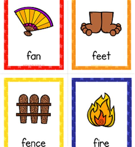 animals that start with the letter f things that start with a to z cards a wellspring of 20456 | things that start with f cards 250x272