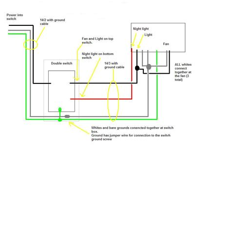 i a broan qtxe110flt fan i need a simple diagram on how to wire it from the box to the
