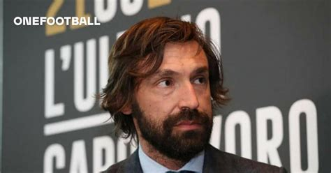 """Juventus Coach Andrea Pirlo: """"I'm Grateful For Everything ..."""
