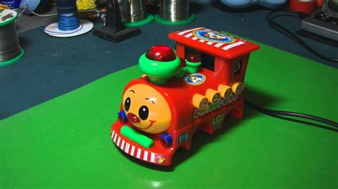 Circuit Bent Chibicoro Toy Train Freeform Delusion