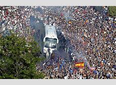 Real MadridManchester City Espectacular recibimiento de