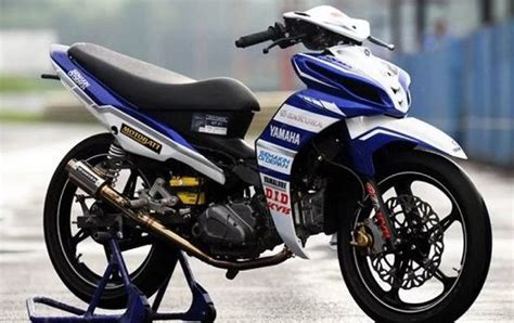 Modif Jupiter Road Race by Modifikasi Jupiter Z 2019 Bergaya Road Race Dan Jari Jari