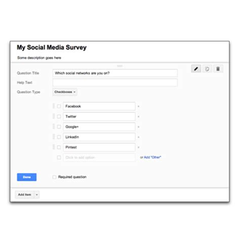 google forms video how to create a survey using google forms video