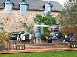 creer un jardin convivial apres relooking http www With amenager une terrasse exterieure 4 creation et amenagement de terrasse en bois paysagiste