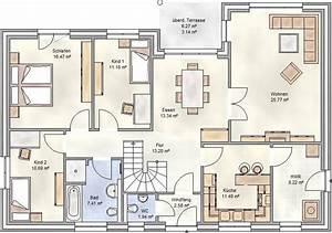 Grundriss Haus 200 Qm : winkelbungalow 125 qm grundriss in hamburg bauen blohm gmbh ~ Watch28wear.com Haus und Dekorationen